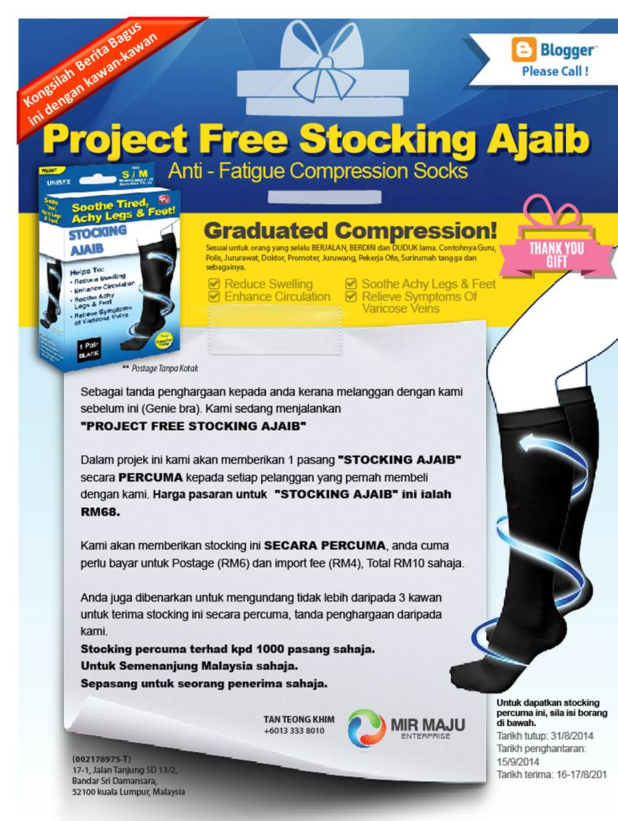 Project Free Stocking Ajaib